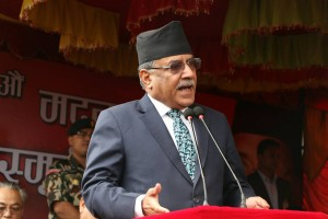 Imitating 'People's war'cannot herald new governance structure: Prachand to Biplop